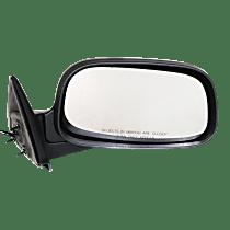 Mirror - Passenger Side, Power, Folding, Textured Black, 6 x 9 in. Housing