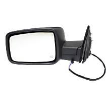 Power Mirror Heated - Driver Side, Textured Black