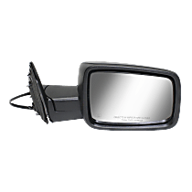 Power Mirror  Heated - Passenger Side, Textured Black