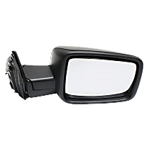 Mirror Manual Folding Non-Heated - Passenger Side, Manual Glass, Textured Black