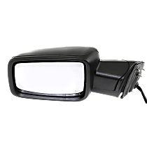Power-Folding Mirror Driver Side, Heated, with Signal and Puddle Lights, Paintable