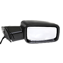 Power-Folding Mirror Passenger Side, Heated, with Signal and Puddle Lights, Paintable
