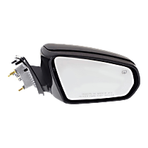 Mirror - Passenger Side, Power, Heated, Folding, Paintable