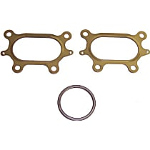 DNJ EG285 Exhaust Manifold Gasket - Direct Fit, Kit