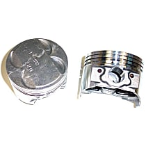 DNJ P126A Piston - Direct Fit, Set of 2