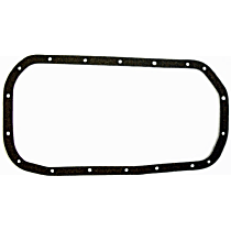 DNJ PG100 Oil Pan Gasket - Cork, Direct Fit, Sold individually
