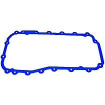 DNJ PG1135 Oil Pan Gasket - Rubber-coated fiber, Direct Fit, Sold individually