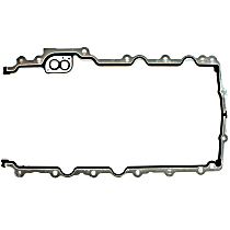 DNJ PG140 Oil Pan Gasket - Rubber with steel core, Direct Fit, Set