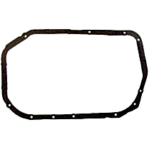 DNJ PG153 Oil Pan Gasket - Cork, Direct Fit, Sold individually