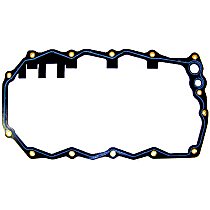DNJ PG164 Oil Pan Gasket - Rubber with steel core, Direct Fit, Sold individually