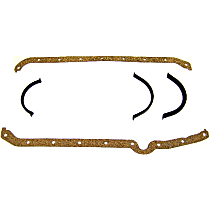 PG3101 Oil Pan Gasket - Cork and rubber, Direct Fit, Set