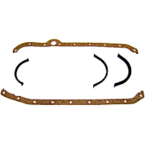 PG3101A Oil Pan Gasket - Cork and rubber, Direct Fit, Set