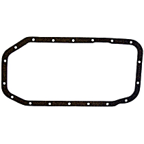 Oil Pan Gasket - Cork, Direct Fit, Sold individually