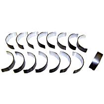 DNJ RB1100 Rod Bearing Set - Direct Fit, Set of 8