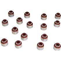DNJ VSS107 Valve Stem Seal - Direct Fit, Set of 16