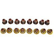 DNJ VSS1162 Valve Stem Seal - Direct Fit, Set of 16