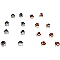 DNJ VSS943 Valve Stem Seal - Direct Fit, Set of 16
