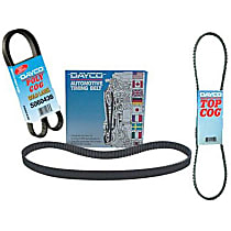 17370 Accessory Drive Belt - V-belt, Direct Fit, Sold individually