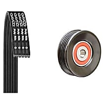 5040343K1 Serpentine Belt - Direct Fit, Kit