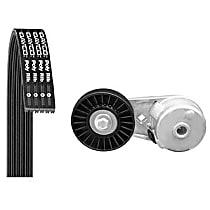 5050405K1 Serpentine Belt - Direct Fit, Kit