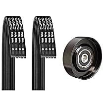 5060431K1 Serpentine Belt - Direct Fit, Kit