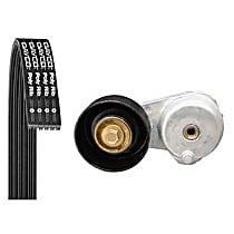 5060820K1 Serpentine Belt - Direct Fit, Kit