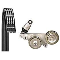 5060840K2 Serpentine Belt - Direct Fit, Kit
