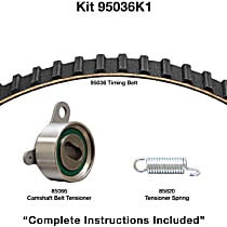 95036K1 Timing Belt Kit - Water Pump Not Included