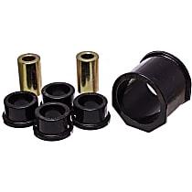 Energy Suspension 11.10101G Steering Rack Bushing - Black, Polyurethane, Direct Fit, Kit