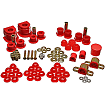 Energy Suspension 11.18101R Master Bushing Kit - Red, Polyurethane, Direct Fit, Kit