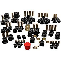 Energy Suspension 11.18102G Master Bushing Kit - Black, Polyurethane, Direct Fit, Kit