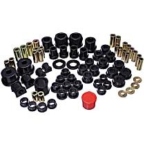 Energy Suspension 11.18104G Master Bushing Kit - Black, Polyurethane, Direct Fit, Kit