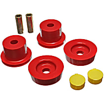 11.4101R Differential Mount Bushing - Red, Polyurethane, Direct Fit, Kit