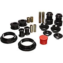 Energy Suspension 15.18101G Master Bushing Kit - Black, Polyurethane, Direct Fit, Kit
