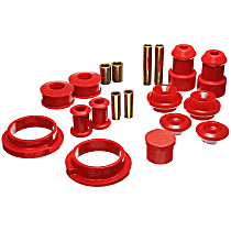 Energy Suspension 15.18101R Master Bushing Kit - Red, Polyurethane, Direct Fit, Kit