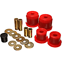 16.1112R Differential Mount Bushing - Red, Polyurethane, Direct Fit