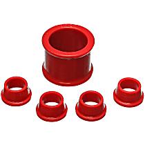 Energy Susp 16.10101R Steering Rack Bushing - Red, Polyurethane, Direct Fit, Kit