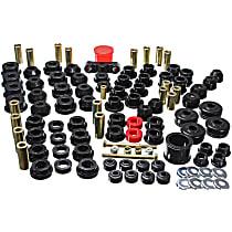 Energy Suspension 16.18102G Master Bushing Kit - Black, Polyurethane, Direct Fit, Kit