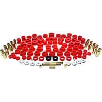 16.18102R Master Bushing Kit - Red, Polyurethane, Direct Fit, Kit