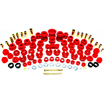 16.18103R Master Bushing Kit - Red, Polyurethane, Direct Fit, Kit