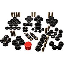 16.18104G Master Bushing Kit - Black, Polyurethane, Direct Fit, Kit