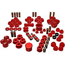 16.18104R Master Bushing Kit - Red, Polyurethane, Direct Fit, Kit