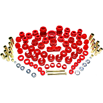 Master Bushing Kit - Red, Polyurethane, Direct Fit, Kit
