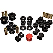 Master Bushing Kit - Black, Polyurethane, Direct Fit, Kit