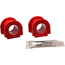 Sway Bar Bushing - Red, Polyurethane, Direct Fit, Set of 2 Front