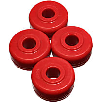 16.7102R Strut Rod Bushing - Red, Polyurethane, Direct Fit, 2-arm set