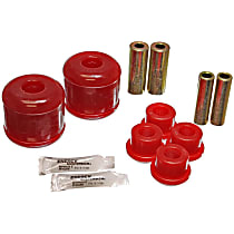 Energy Suspension 16.7105R Trailing Arm Bushing - Red, Polyurethane, Direct Fit, Set of 4