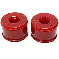 16.7106R Trailing Arm Bushing - Red, Polyurethane, Direct Fit, Set of 2