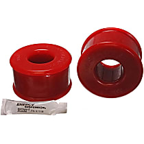 16.7107R Trailing Arm Bushing - Red, Polyurethane, Direct Fit, Set of 2