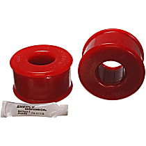Energy Susp 16.7107R Trailing Arm Bushing - Red, Polyurethane, Direct Fit, Set of 2